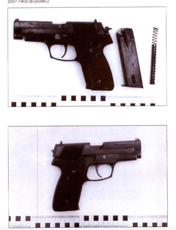 Sex pistoler svarta araber